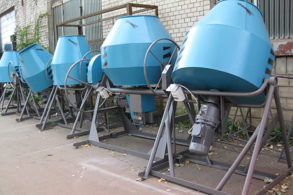 изготовление бетоносмесителей