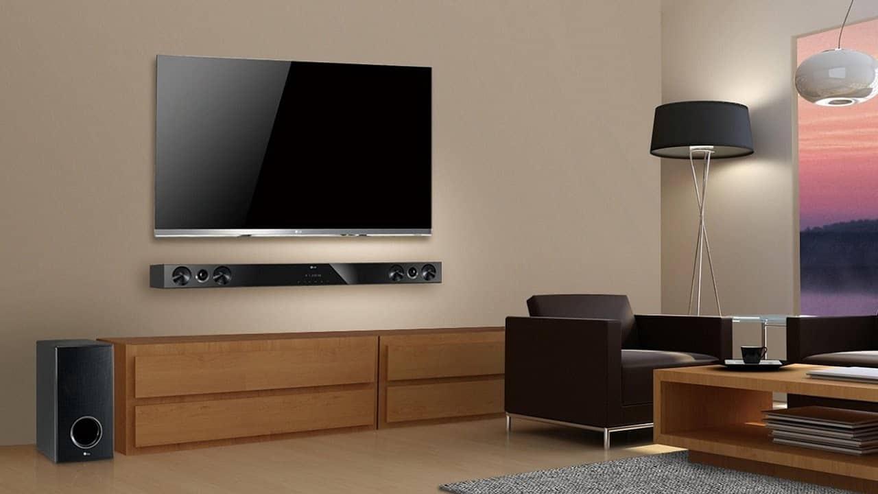 Саундбары LG 29 фото обзор LG SJ3 SK9Y и других моделей для телевизора Как подключить саундбар с караоке Какое выбрать крепление Отзывы экспертов и пользователей